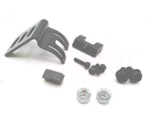 Rotation: Black ZINC Plated 10 Degrees and -30 Degrees EZ-Screen Low Profile Accessory BANNER ENGINEERING LPA-MBK-12 82842 14 GA Steel Bracket: Side Mount Includes ONE Bracket and Hardware