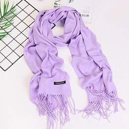 HITSAN INCORPORATION women scarf fashion summer thin solid shawls and wraps  lady pashmina bandana female hijab 4b2420d2025