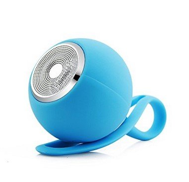 Water Resistant Silicone Bluetooth Speaker (Blue) - 7