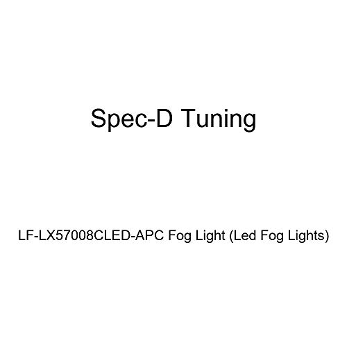 Spec-D Tuning LF-LX57008CLED-APC Led Fog Lights ()