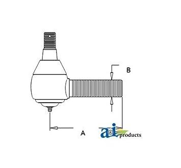 Amazon.com: A&I TIE ROD SHORT (AR85943): Garden & Outdoor on john deere 4440 electrical, john deere 4440 transmission, john deere 4440 cylinder head, john deere 345 wiring-diagram, john deere 455 wiring-diagram, john deere 155c wiring-diagram, john deere 325 wiring-diagram, john deere 4100 wiring-diagram, john deere 4020 wiring schematic, john deere 4440 information, john deere 322 wiring-diagram, john deere 4430 wiring-diagram, john deere 4440 accessories, john deere ignition switch diagram, john deere 320 wiring-diagram, john deere lawn tractor electrical diagram, john deere 4440 hydraulic system diagram, john deere 425 wiring-diagram, john deere 3020 electrical diagram, john deere m wiring-diagram,