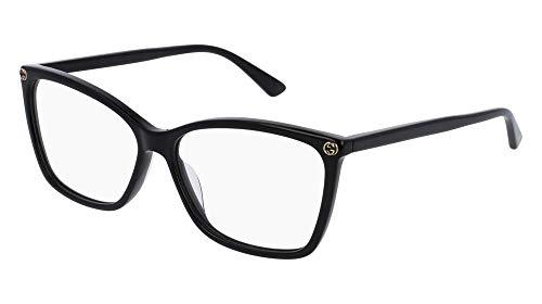Gucci Women's Gg0025o 56Mm Optical Glasses