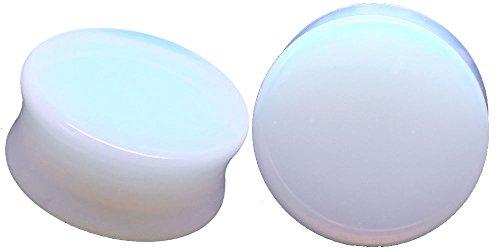 Opalite Organic Stone Ear Plugs Gauges S - Organic Ear Plugs Shopping Results