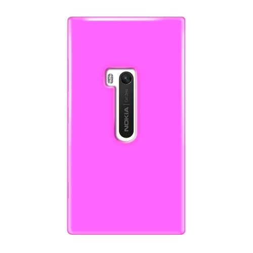 KATINKAS 2108054358 Soft Cover for Nokia Lumia 920 - 1 Pack - Retail Packaging - Magenta