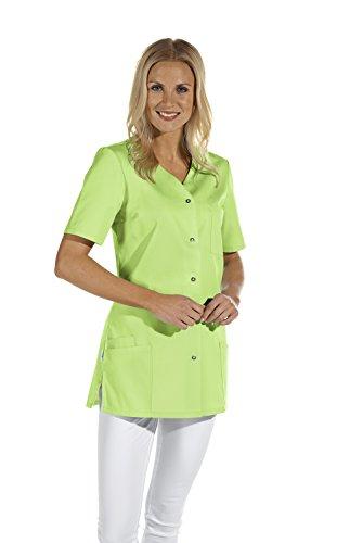 Leiber Women's Scrubs Top 1/2 Sleeve, Colour: lime Size: 32