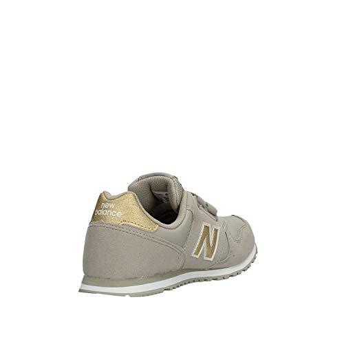 New Balance Niños Sneaker Kv373gug Gris rqPqRzX7