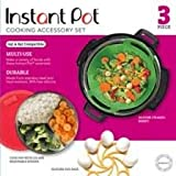Instant Pot 5257143 Official Cooking Set, 3-Piece, Assorted