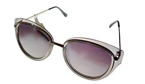 Esprit Womens Metal Plastic Gray Cateye Sunglass ET39066 505