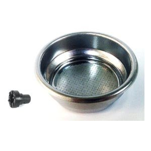 Gaggia 21000491 Stainless Steel 2 Cup Filter Basket with Pin - Pressurised ()
