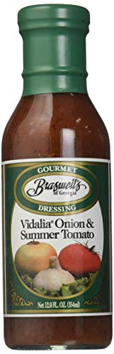 - Braswells Vidalia Onion and Summer Tomato Gourmet Dressing, 12 Ounce (Pack of 6)
