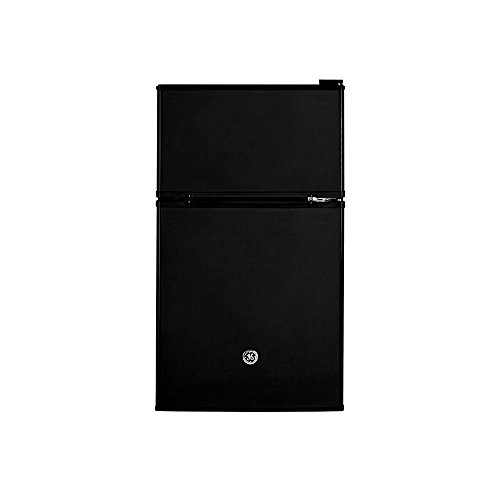 GE GDE03GGKBB 19″ Freestanding Compact Refrigerator with 3.1 cu. ft. Capacity, in Black