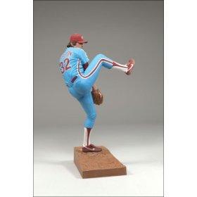 (McFarlane Toys MLB Sports Picks Cooperstown Series 4 Action Figure Steve Carlton (Philadelphia Phillies) Blue Uniform)
