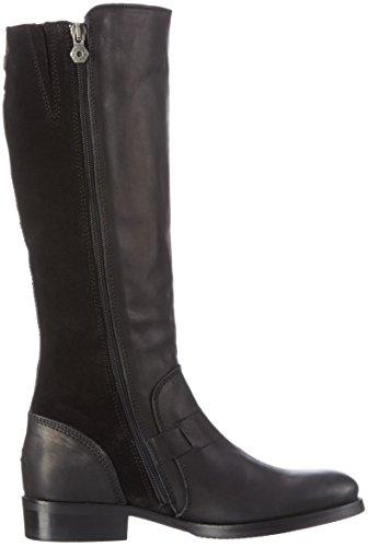 Hilfiger Denim A1385VIVE 16C - Botas altas para mujer Negro (Black 990)