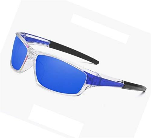 Cool protectrices de de extérieure lunettes La a polarisé des pêche Huyizhi la Bleu UV400 recyclage lunettes de soleil voyager mode 7qgdwR
