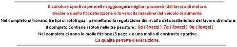 UNTIMERO Racing VARIATORE PULEGGIA Cinghia Kit per MALAGUTI F12 Phantom 2TEMPI 50 LC