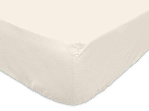 Cotone 140 x 190 cm Soleil d/'Ocre 610827Lenzuolo con angoli in cotone Ecru
