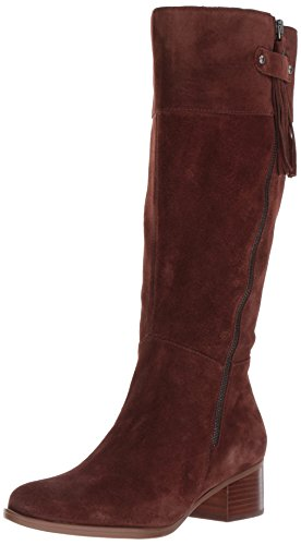 (Naturalizer Women's Demi Wc Riding Boot, Chocolate, 8 M US)