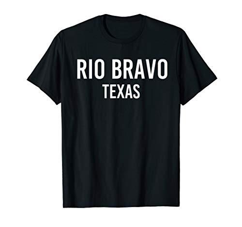 RIO BRAVO TEXAS TX USA Patriotic Vintage Sports T-Shirt