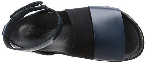 Toe Women's Navy Ateljé Sandal Apix Peep 71 BZxaqOS