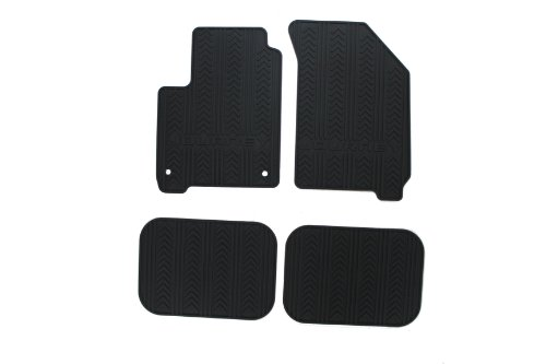 Dodge Genuine Accessories 82213476 Black Slush Mat, (Set of 4)