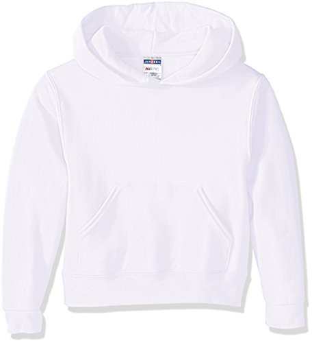 Price comparison product image Jerzees Youth Pullover Hood, White, X-Large
