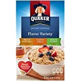 Quaker Instant Oatmeal Flavor Variety 10 Packets (Pack of 2)