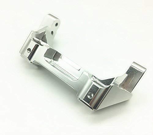 Treal Aluminum Rear Bumper Mount 1pc Set for 1:10 Traxxas TRX-4 Silver