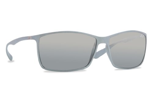 Ray Ban RB4179 Liteforce Sunglasses-601788 Silver (Silver Mirr Grad - Rb Liteforce