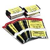 * Tamper-Evident Twin Deposit Bags, 9 1/2 x 17 1/2, 100/Box, Clear