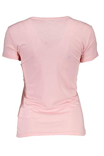 Femme Guess Ss Manche Tee Rose Pull Sans Icon Vn fTqf0