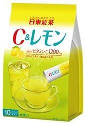 三井農林 日東紅茶 C&レモン 9.8g×10本×24個入