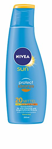 Nivea Sun Protect & Bronze Lotion SPF 20 200 ml