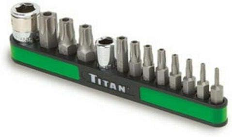 13 Pc Tamperproof Torx Bit Socket Set TTN-16113 Brand New!