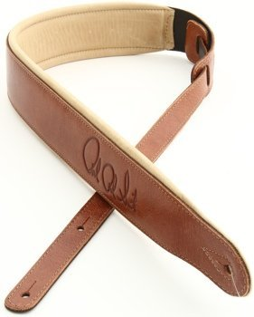 PRS Leather Signature Strap - Cognac and Tan by PRS
