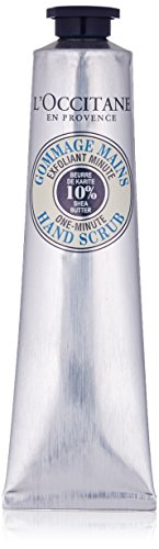 L'Occitane One Minute Hand Scrub with 15% Shea Oil and Organic Brown Sugar, 3.5 oz.