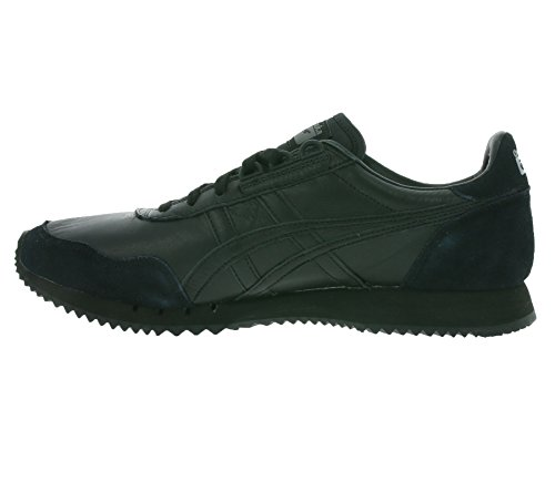 9090 black Real Dualio Onitsuka asics D6L1L Tiger sneaker leather twB87Yq