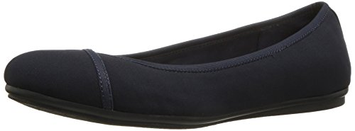 Easy Spirit Women's Gulia Flat Navy/Navy Fabric newest cheap online wholesale price cheap online chAEf