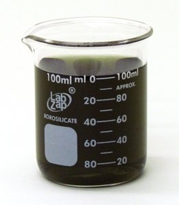 SEOH Beaker Borosilicate Glass Low Form Graduated 100ml Each