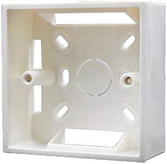 Caja de pared Universal Square Wall 86mm x 86mm x 30mm PVC para ...