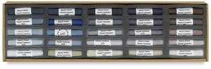 Vision Pastels - Mount Vision Pastel Company 25-Piece Thunderstorm Grey Set