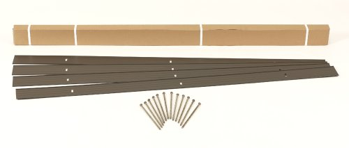 (Dimex EasyFlex Aluminum Landscape Edging Project Kit, Will Not Rust Like Steel, Bronze (1806BZ-24C))