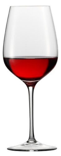 Eisch Superior All Purpose Red Wine Sensis Plus Lead-Free Crystal Wine Glass, Set of 2, (All Purpose Wine Glass)
