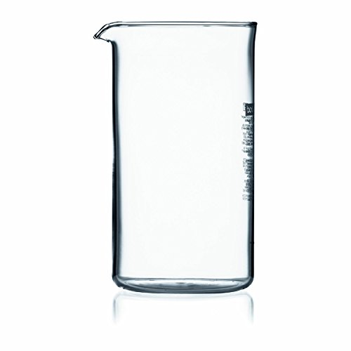 Bodum Replacement Beaker 3 cup, 12 ounce US, .35 litre, 1.5 Cup US Fits Press 1503-10 (Bodum French Press 12 Oz Carafe)