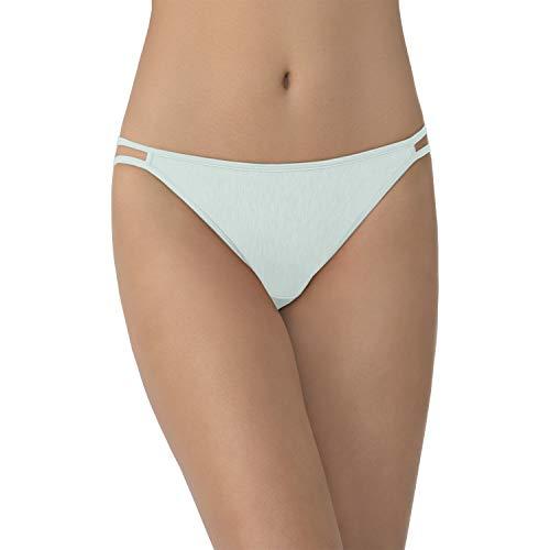 Vanity Fair Women's Illumination String Bikini Panty 18108, Herbal Mist, Small/5