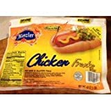 Kunzler Chicken Franks 16 Oz. (4 Pack)