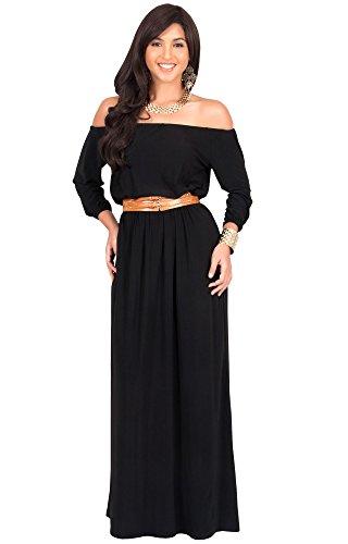 long black maxi dress size 22 - 5