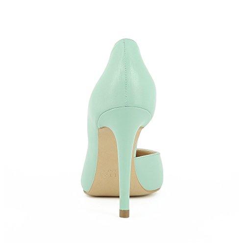 Menthe Semiouverts Escarpins Alina Cuir Evita Shoes Femme Lisse x7Rwq1F0