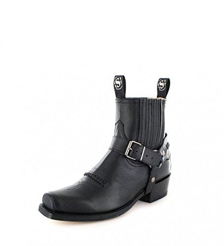 Sendra Boots 6445, Stivali uomo Nero nero Nero