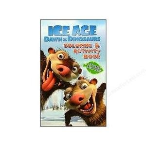 Ice Age Dawn of the Dinosaurs Coloring & Activity Book (Stickers Included)