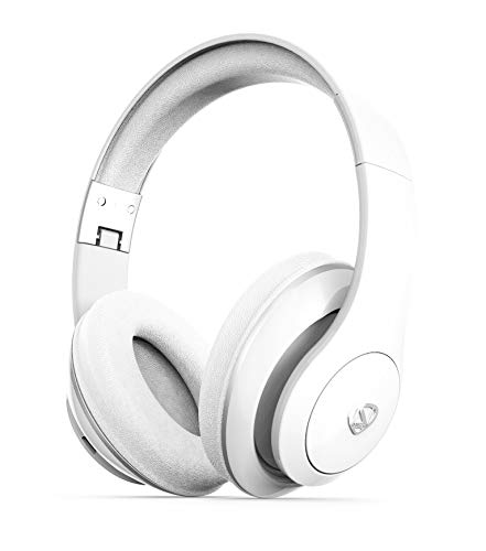 - NCredible1 Bluetooth Wireless Headphones, Hi-Fi Stereo Tuned by Nick Cannon, Portable Foldable Headset, Adjustable Padded Headband, Soft Ear Cushions, Built-in Mic, Ear Cup Controls (White)